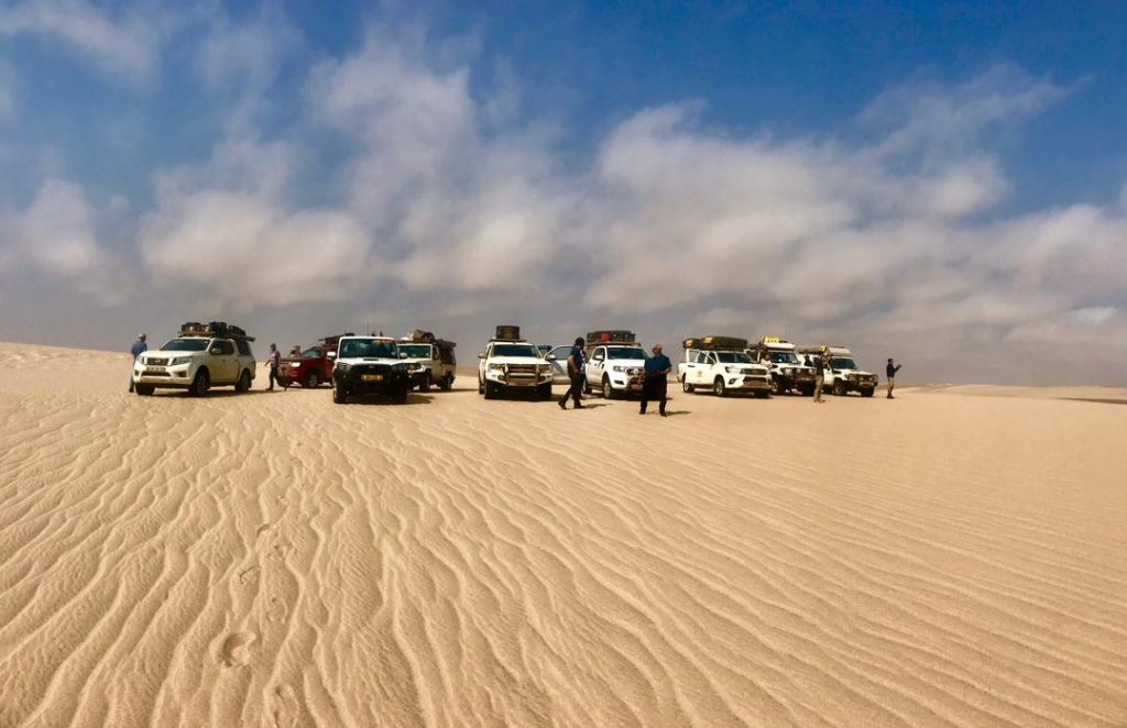 Picture Of The I Dream Africa Car During 4x4 Tours In Namibia